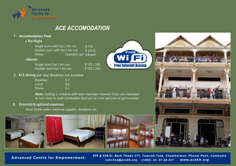 ACE Hostel Updated